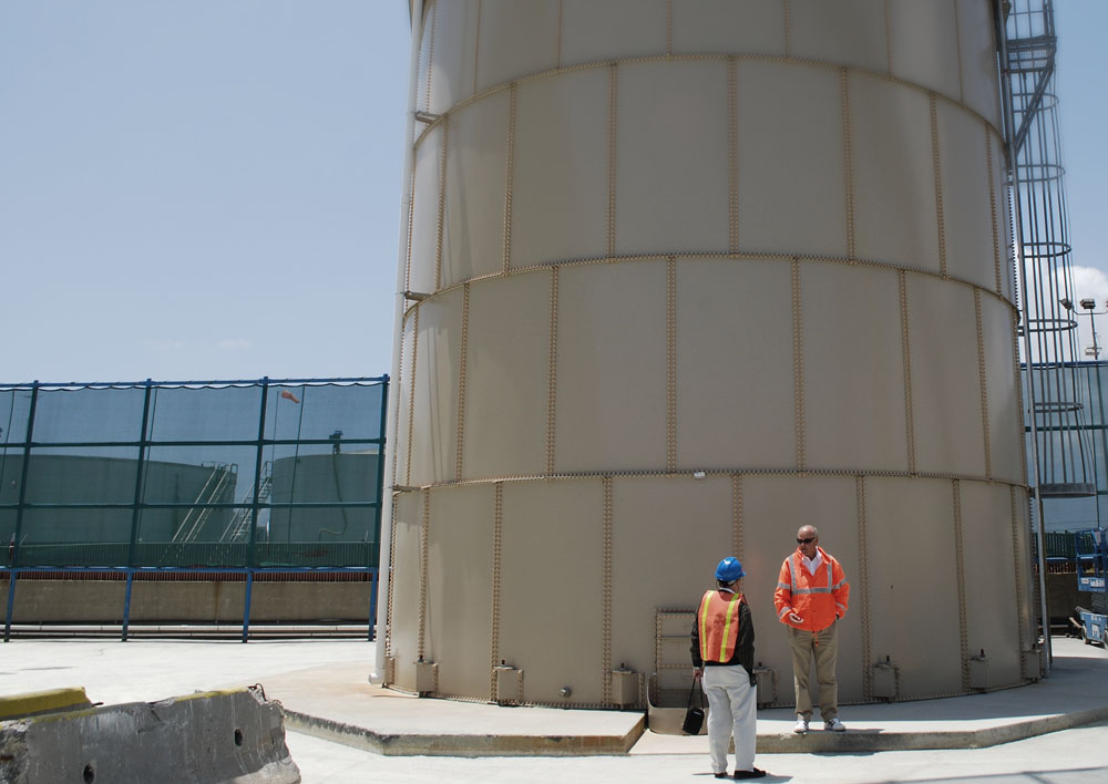 Bolted Steel Tank Inspection