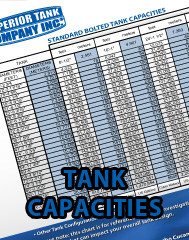 Standard Bolted Tank Capacities