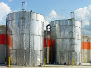 Fire Protection - Galvanized Steel Storage Tank