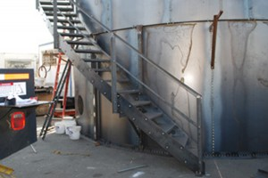 Galvanized Ladder