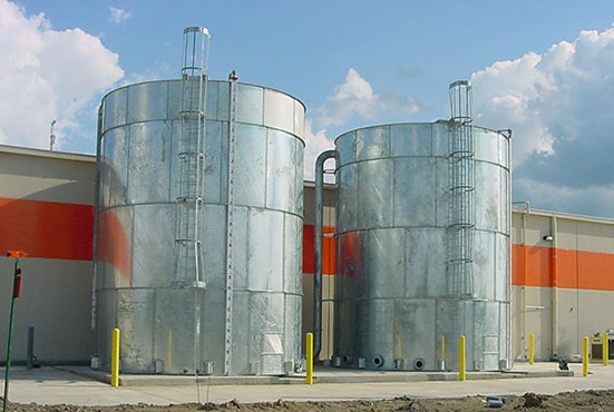 Galvanized Storage Tanks