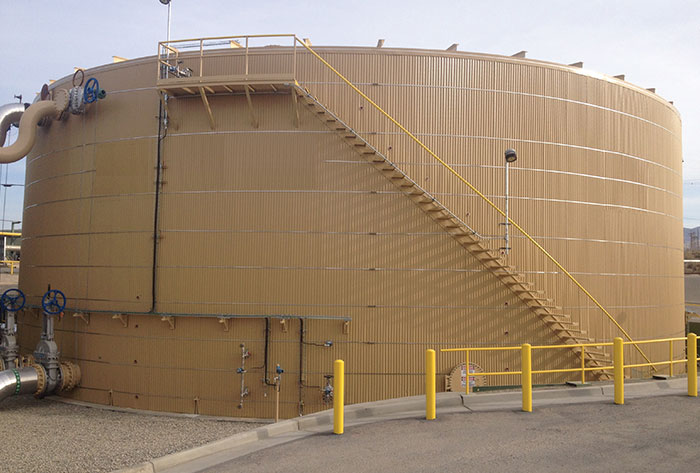 Insulated Welded Oil Tank